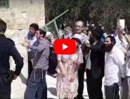 فلسطين : مستوطنون متطرفون يقتحمون باحات المسجد الأقصى  ... بالفيديو