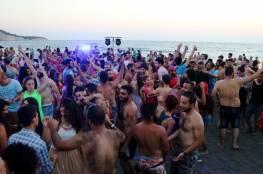 قصف حلب يتواصل.. وحفل راقص على شاطئ اللاذقية (صور)
