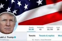 """في آخر يوم عمل له.. موظف في """"تويتر"""" يغلق حساب ترامب!"""
