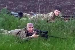 مصرع  أشهر قناصة في العالم والتي خططت لاغتيال بوتين برصاصة في الرأس