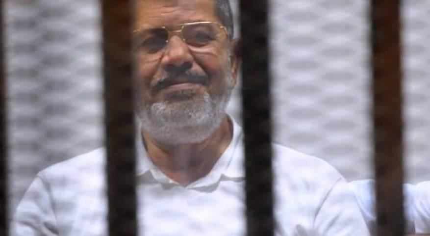 الرئيس المصري السابق المعزول محمد مرسي _صورة أرشيفية