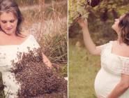 """بعد صور النحل يغزو بطنها.. أم """"شهيرة"""" تلد طفلها ميتا"""