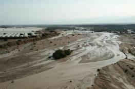 فلسطين : قتلى ومفقودين وعالقين جراء السيول في وادي عربة