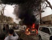 ليبيا : إصابة رئيس مديرية أمن بنغازي الليبية في تفجير انتحاري