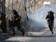 حالات اختناق بمواجهات مع جيش الاحتلال شمال الخليل