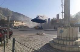 انفجار ضخم في العاصمة كابول وأنباء عن سقوط ضحايا