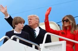 ابنة ترامب وحفيدها يكلفان أميركا أكثر من 45 مليون دولار!