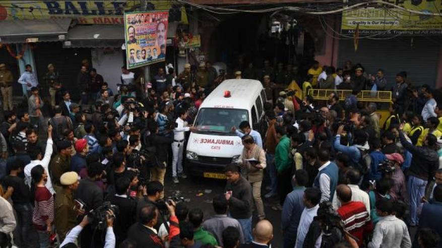 مقتل 43 شخصا في حريق بمصنع بالهند