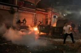 فلسطين : إصابات وهدم عقب اشتباك مسلح مع الاحتلال بمخيم قلنديا