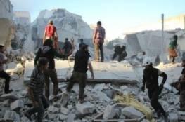 إدلب:26 قتيل في غارات جوية