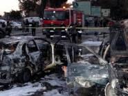 47 قتيلاً في تفجير استهدف معارض للسيارات ببغداد