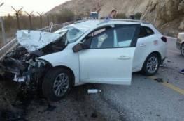 7 اصابات بحادث سير مروع شرق رام الله