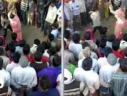 """الهند : جلد امرأة مقيدة إلى شجرة ومحاولات لاغتصابها """"فيديو"""""""