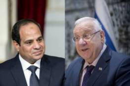 قادة الأحتلال : فخورين بقيادة السيسي لمصر