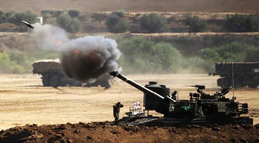 قصف-مدفعي-من-كيان-الاحتلال-بعد-إعلن-التهدئة