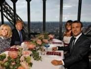 """بماذا وصف """"ترامب"""" سيدة فرنسا الأولى وماذا كان رد فعلها؟!؟"""