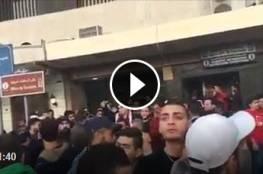 اعتصام في لبنان طرابلس ساحة_النور