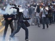 قتيل وعشرات الجرحى في مواجهات بين مؤيدين ومعارضين بفنزويلا