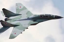 موسكو: تحطم مقاتلة روسية ومقتل طيارها