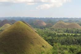 الفلبين : من عجائب الطبيعة تلال الشوكولاته