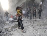 سوريا : مقتل 17 شخصًا أغلبهم نساء وأطفال في غارات روسية على إدلب