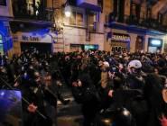 اضطرابات برشلونة تدخل ليلتها الخامسة