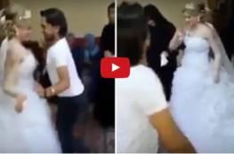 فيديو:آثارا الجدل في زفافها