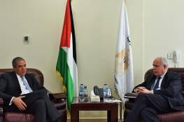 المالكي يبحث مع ممثل الاتحاد الأوروبي جهود تحقيق السلام