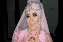 فيديو|عروس تصدم رواد الأنترنت