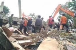 زلزال ضرب في غرب أندونيسيا  حصيلة أولية 18 قتيلا على الأقل