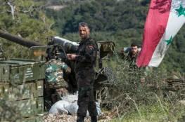 قوات النظام السوري يتوغل في مزارع محيطة بمدينة تدمر