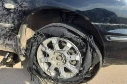 *التصرف السليم لإيقاف السيارة عند انفجار احد الاطارات وانت تقود السياره بسرعة تتجاوز100كم/ساعه...