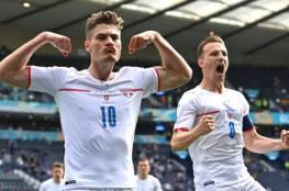 باتريك تشيك يحلق بأحلام التشيك في يورو 2020