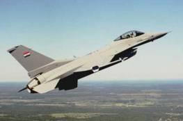 سقوط طائرة حربية للجيش العراقي