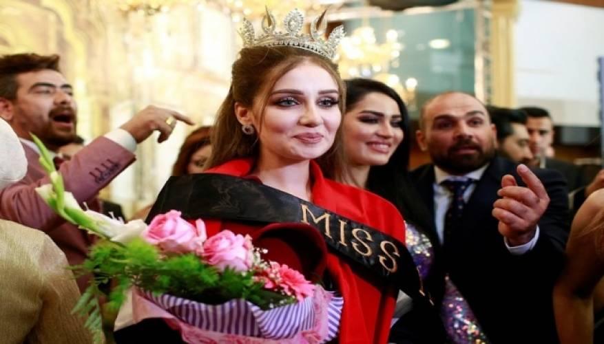 صور: تجريد ملكة جمال العراق من لقبها بسبب سر أخفته عمداً!