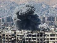 سوريا : 13 ضربة جوية للنظام على حي جوبر بدمشق