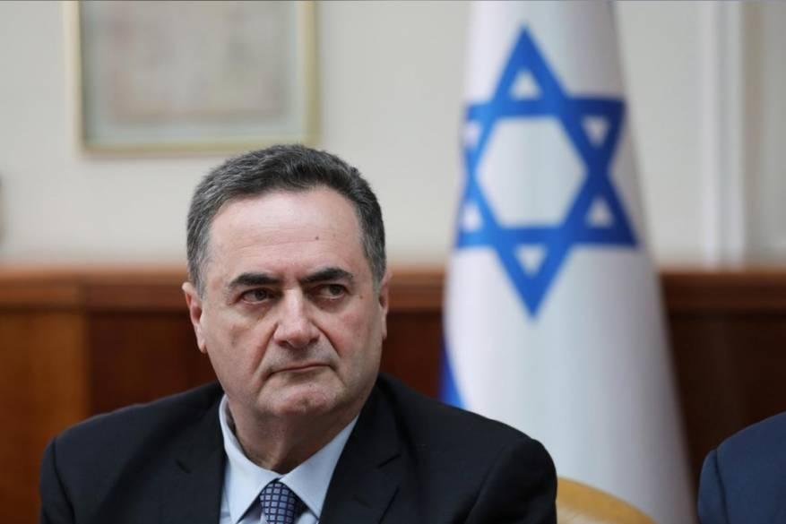 إسرائيل كاتس وزير الخارجية الإسرائيلي - صورة أرشيفية..