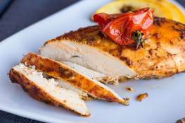 وصفة صدور الدجاج المتبلة لمرضى السكري