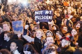 مظاهرات وأحتجاجات نسائية كبيرة لم يسبق لها مثيل في العالم ضد ترامب