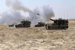 الجيش  التركي يجدد قصف عفرين