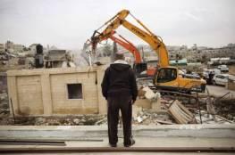 سلطات الاحتلال تهدم منزلاً في النقب المحتل
