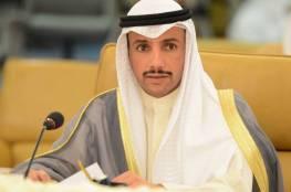 الغانم: مكافحة الإرهاب تبدأ بحل قضية فلسطين ونعمل على طرد الاحتلال من البرلماني الدولي