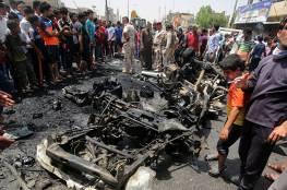 فيديو: 137 قتيلا وجريحا أكثرهم إيرانيين حصيلة الهجمات الانتحارية جنوب العراق