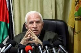 الأحمد: ذاهبون بإرادة وطنية صادقة والسلاح الفلسطيني كله للمقاومة