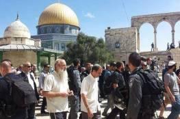 شرطة الاحتلال تمنع وزير الزراعة أوري أرئيل من دخول المسجد الأقصى
