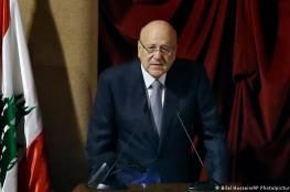 الحكومة اللبنانية تنال الثقة بأغلبية 85 صوتاً