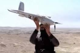 سوريا : تنظيم داعش الأرهابي يستهدف مطار السين العسكري بطائرات مسيرة