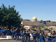 قوات الاحتلال تعزز تواجدها في القدس .. استعداداً للصلاة الجمعة