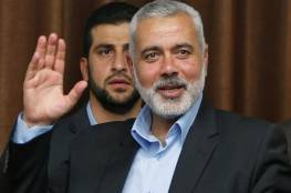 فلسطين : هنية يعلن التوصل لاتفاق بين حركتي فتح وحماس