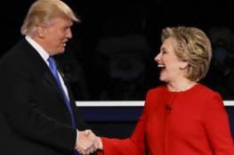 دونالد ترامب يتقدم على هيلاري كلينتون والأسهم الأمريكية تتراجع